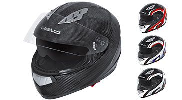 Casque moto carbone ST-6 HELD ST-601