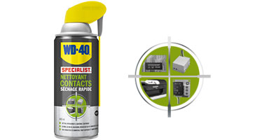 Nettoyant contacts lectriques 400ml wd 40 trackdays chrono - Nettoyant contact electrique ...